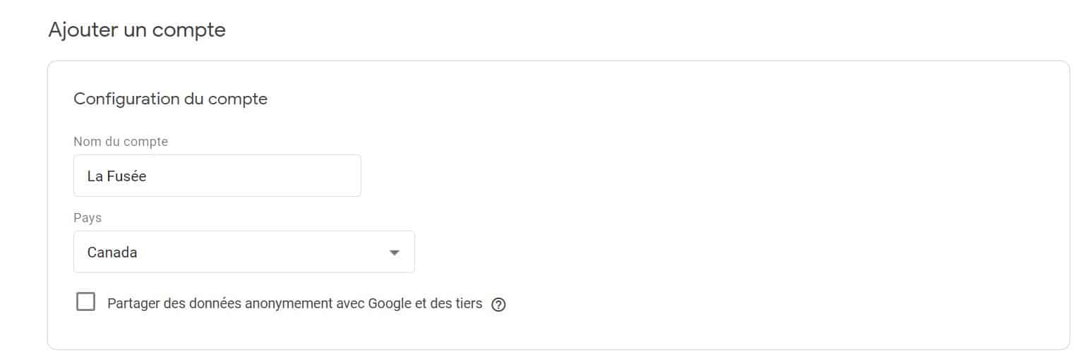 ajouter compte google tag manager
