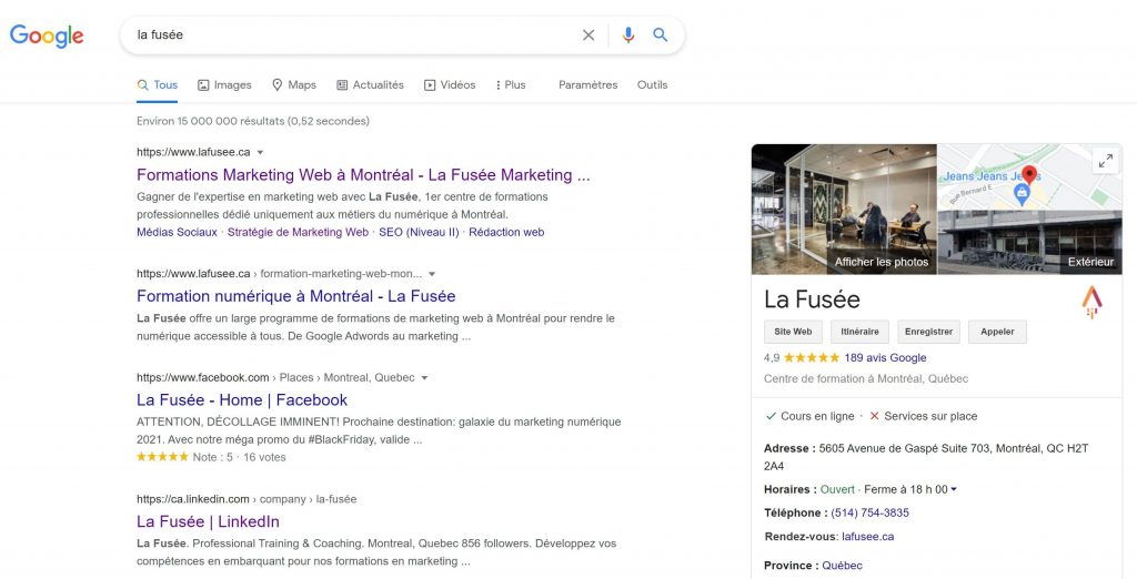 Optimiser sa fiche Google mon Entreprise pour le référencement local